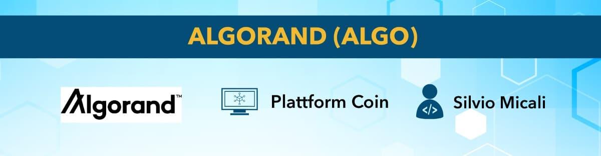 best cryptocurrency Algorand
