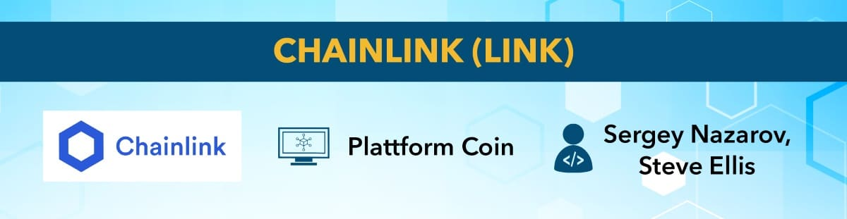 best cryptocurrency Chainlink