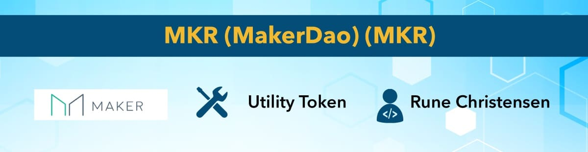 best cryptocurrency Maker Dao
